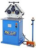 Pro-Lift-Werkzeuge - Máquina de doblar tuberías eléctrica universal (acero, tubo cuadrado)