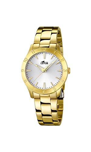 Lotus 18140/1 Trendy- Reloj de cuarzo para mujer con correa de acero,