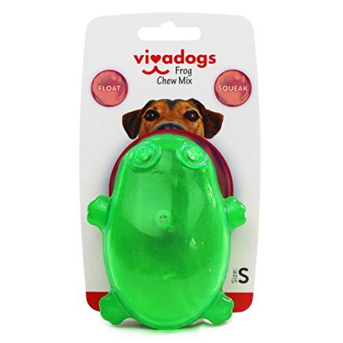 Vivadogs - Rana Verde - Juguetes para Perros - Juguetes para Perros...