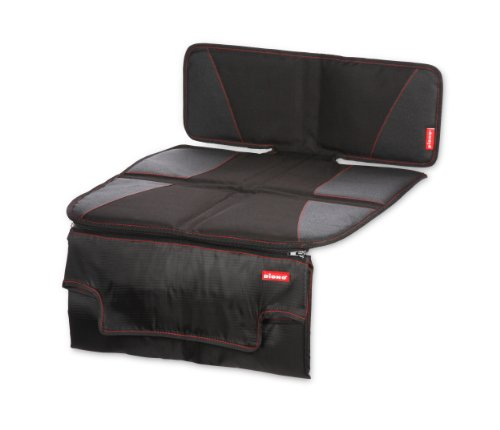 Diono Super Mat Deluxe Seat Protector with Zip Off Changing Mat, Black...