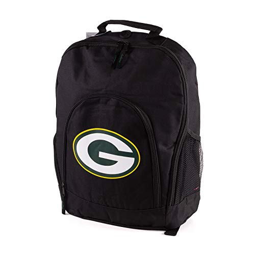 Forever Collectibles NFL Green Bay Packers Back To School Backpack Black Bag Rucksack Tasche