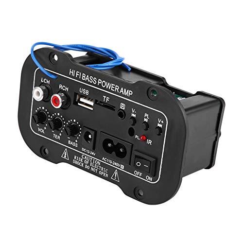 Amplificador de alta fidelidad de Bluetooth, AMP audio estéreo de alta fidelidad bajo de alta fidelidad del amplificador de Bluetooth del coche auto de 5 pulgadas