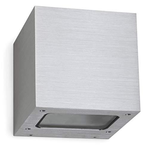 EXO lighting BRICK Support Mural/Plafond PLANETARIUS g culot LED-Aluminium brossé