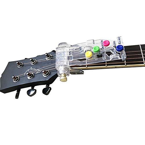 """AGLKH Gitarren-Lernsystem Lehrmittel, Gitarre Praxis-Werkzeug, mit Chromatic Tuner/Fender Picks Paket für E-Gitarren, von 1 1/2 """"mindestens bis 1 7/8"""""""