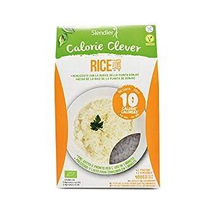 Pasta Konjac Arroz sin gluten - pasta hipocalórica - Slendier - 400g BIO (cja 6 uds) Total: 2400g