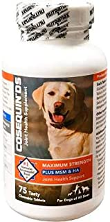 Cosequin DS Plus MSM HA for Dogs (75 chewable Tablets)