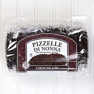 Pizzelle Di Nonna Italian Waffle Cookie (Chocolate)