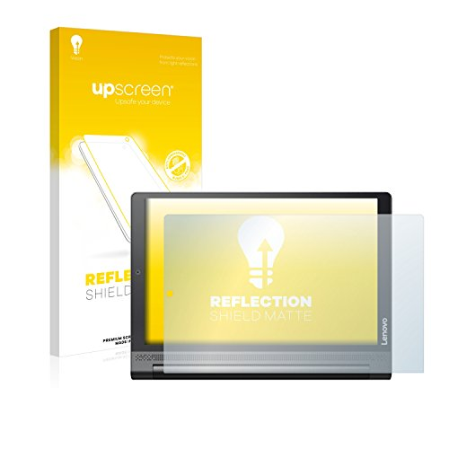 upscreen Entspiegelungs-Schutzfolie kompatibel mit Lenovo Yoga Tab 3 Plus – Anti-Reflex Bildschirmschutz-Folie Matt