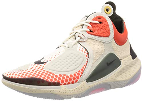 Tênis de corrida masculino Nike Joyride CC3 Setter, Sail / Sequoia-team Orange-black, 10.5 Women/9 Men
