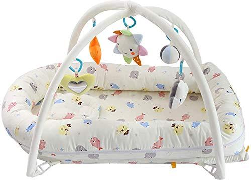 Speelgoed Baby Game Deken, Draagbare en Draagbare Pasgeboren Multifunctionele Fitness Rack Activiteit Deken Liggend op Het Bed voor Baby's om te spelen en Plezier bij de geboorte