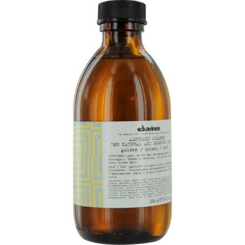 Alchemic Shampooing Alchemic Golden - Cheveux dorés ou blond de miel (naturels ou colorés) - 250 ml (8,45 oz)