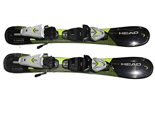 HEADUSA Kids skis V Shape Boys skis Team 67cm with Size Adjustable SLR 4.5 GW Bindings New
