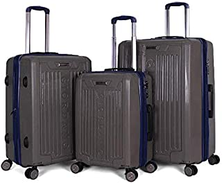 Giordano Luggage Trolley Bags For Unisex 3 Pcs, Multi Color, 25-0274