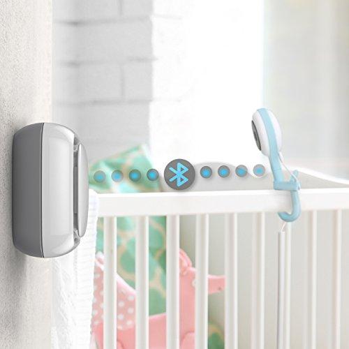 Lollipop camera, cámara para bebés, monitor para bebé, detección de llanto, multistreaming, visión nocturna, soporte para pared, monitor para bebés wifi, detección de cruce (Sensor)