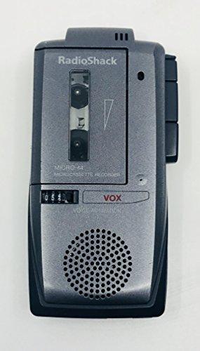 RADIO SHACK MICRO-44 Microcassette Recorder
