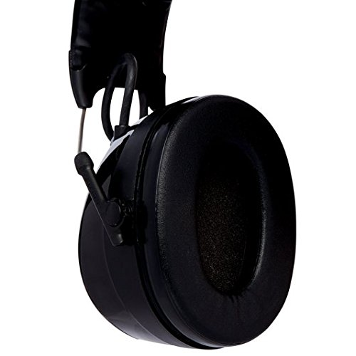 3M Peltor WorkTunes Pro FM Radio Gehörschutz, 32dB - Zuverlässiger Ohrenschutz mit integriertem Radio - Ideal für Forst-, oder Landarbeit und lärmintensive Freizeitaktivitäten - 4