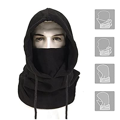 Anomasu Tactical Heavyweight Balaclava Outdoor Sports Mask Black