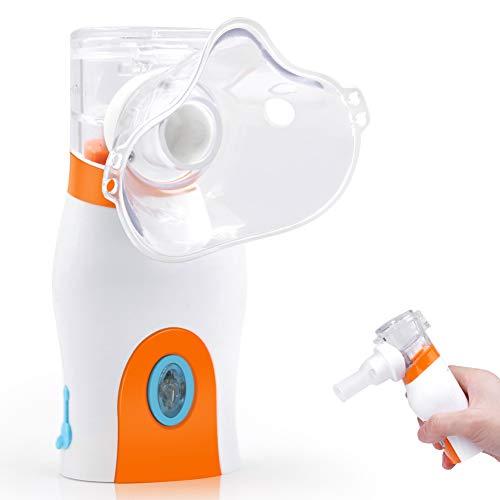 Inhalador de vapor portátil, vaporizador personal, humidificador ultrasónico de mano para viajes de niños y adultos y uso doméstico