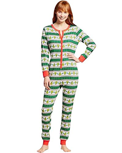Pijamas Familiares Navideñas Pijama Navidad Familia Mono Navideños Mujer Niños Niña Hombre Pijama Entero Una...