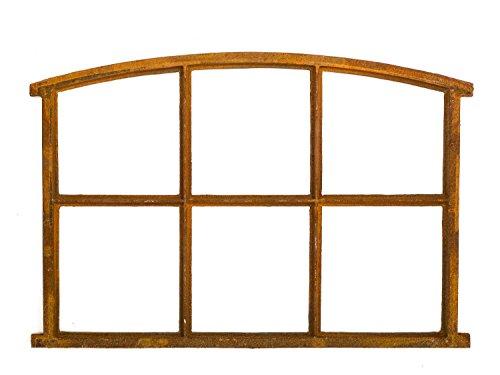 Stallfenster Eisenfenster Scheunenfenster Eisen Fenster 83x60cm im Antik-Stil