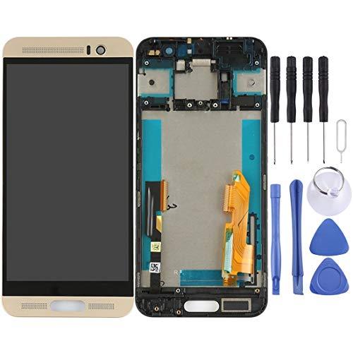 un known Sustituir Piezas por se Pantalla LCD y Montaje Completo de digitalizador con Marco para el Accesorio HTC One M9 + / M9 Plus (Color : Gold)