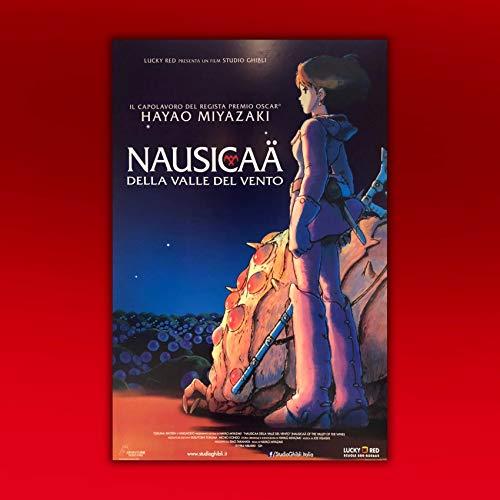 Poster Film Cinema Nausicaa della Valle del Vento - 70x100 CM - Miyazaki