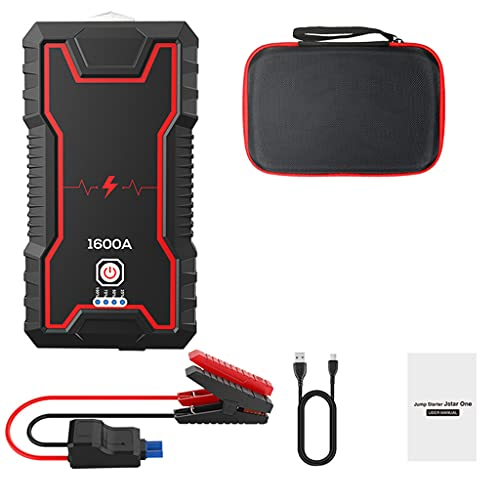 Start Starter 22000mah / 16000mah Papo De Potencia Power Power Portátil Cargador De Refuerzo De Batería De Automóviles 12v Dispositivo De Inicio Diesel Arrancador De Automóviles(Size:20000A)