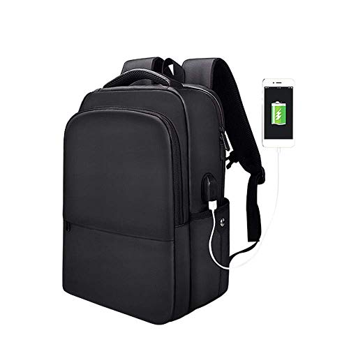 GHJU Multifunctional Backpack, Unisex 15.6-Inch Laptop Backpack with USB Charging Port, Waterproof And Wear-Resistant, Suitable for Business/Outdoor Leisure/Travel qingqiao