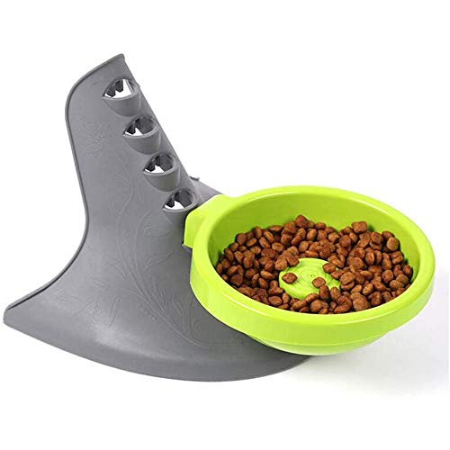LIZONGFQ Pet Bowl Holder Höhenverstellbarer Futterschalenständer Halswirbelsäulenschutz Abgestuftes Aussehen Tiernahrungsschüssel für Katzenhund,A