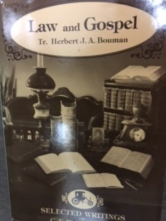 Hardcover Law and Gospel (Selected writings of C.F.W. Walther) (English and German Edition) Book