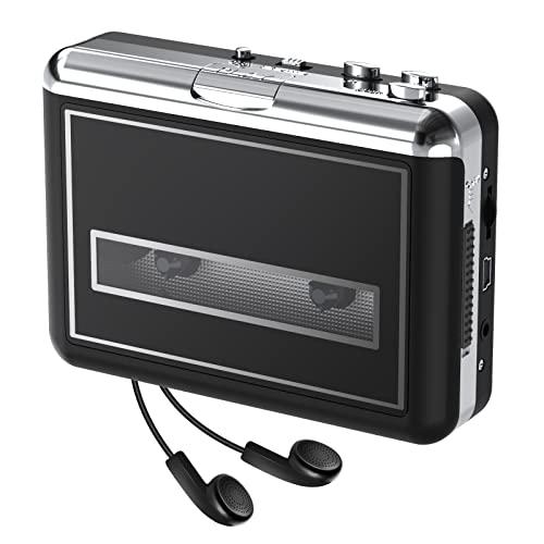 Rybozen - Lettore di cassette, Walkman portatile e Convertitore da Cassette e Nastri a MP3, Nuovo Software (AudioLAVA)