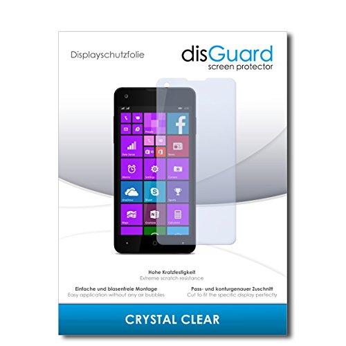 disGuard® Bildschirmschutzfolie [Crystal Clear] kompatibel mit Allview W1 i [3 Stück] Kristallklar, Transparent, Unsichtbar, Extrem Kratzfest, Anti-Fingerabdruck - Panzerglas Folie, Schutzfolie