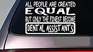 "Dental Ast'S All People Equal 6"" Sticker *E503* Decal Vinyl Toothbrush Paste"