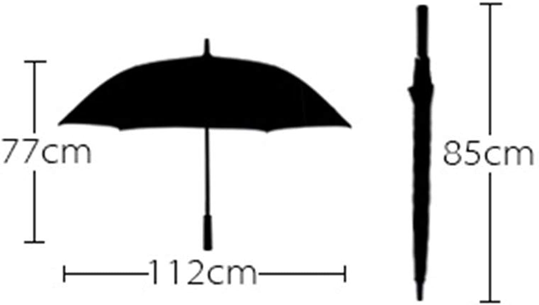 Men Umbrella, Commerce Large Size Long Handle Windproof Sun Predection Rain Foldable, Non-Slip Handle Windproof Umbrella, YS