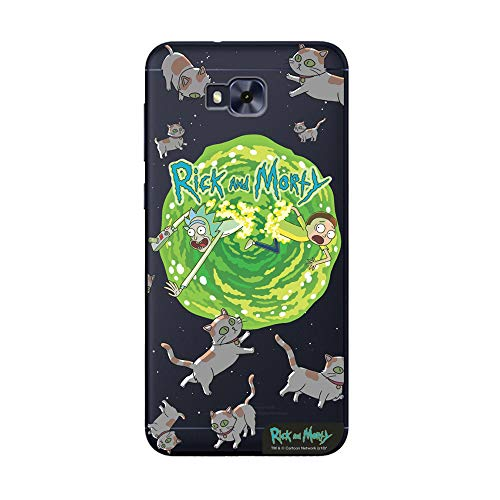 Capa Celular Cats Rick and Morty Zenfone Z4 Selfie, Beek Geek's Stuff, Capa Protetora Flexível, Transparente