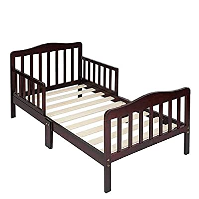 onEveryBaby Wooden Baby Toddler Bed Children Be...