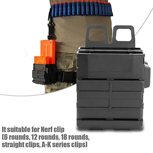 Box Holder Clip Charger Foam Ball für Bag Mag Kunststoff Darts Loader Foam Zubehör Shooting Game