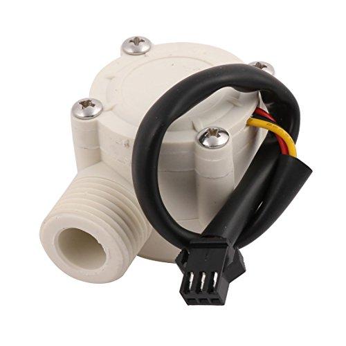 Aexit 1-30L / min 0,8Mpa G1 / 2 Flujo de agua Sensor de control Medidor de caudal Medidor de caudal (4e8967f99d5daceef562103130ea6a6e)