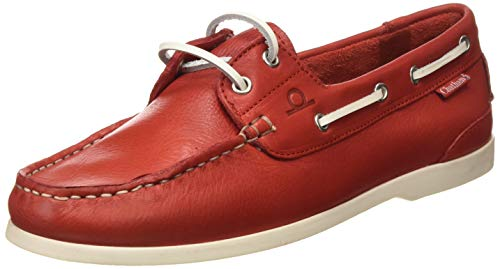 Chatham Willow, Chaussures bateau Femme, (Red 001), 39 EU