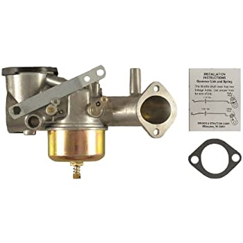 GOOFIT Carburetor Carb Replacement for Briggs /& Stratton 491031 490499 491026 281707 12HP Engine