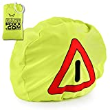 RACEFOXX - Triángulo de advertencia para motocicleta, bolsa para casco, señal de advertencia de accidente, para primeros auxilios