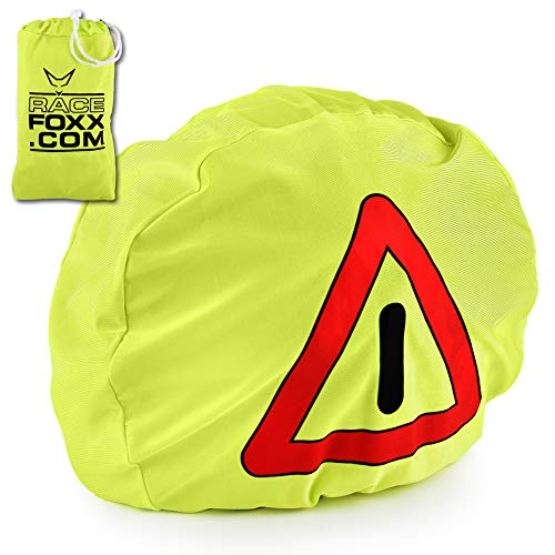 Motorrad Warndreieck, Helmbeutel, Warnsignal, Unfallsicherung, Unfallstelle, Erste Hilfe, RACEFOXX