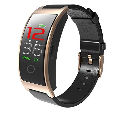 Zeerkeer Smart Watch activiteitstracker met hartslagmeter, IP67 waterdichte smart-armband met calorieënteller, bloeddrukmeter, stappenteller, voor dames en heren