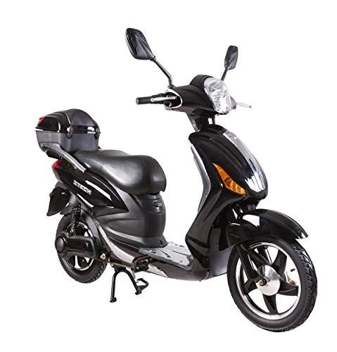 Tecnobike Shop Scooter Bicicletta Elettrica a Pedalata Assistita Z-Tech ZT-09-A 250w 12Ah Batteria al Piombo (Nero)