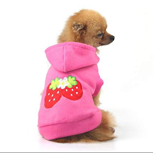 Hund Kleidung Haustiere Mäntel Weiche Baumwolle Warme Welpen Mops Chiwawa Kleidung Hoodies Kleidung Für Kleine Hunde Herbst Haustierprodukte