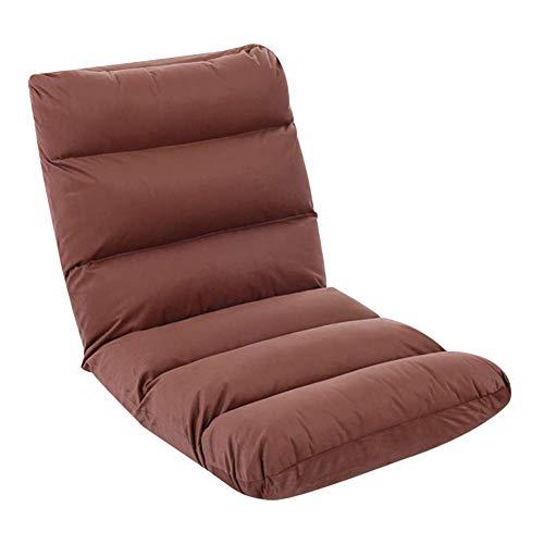 ZHFZD Klapstoel met jute wand, Bankspei voor camping, sofa, voor de vrije tijd, verstelbaar, voor binnen (kleur: Bijanche en zwart) Size Grijs