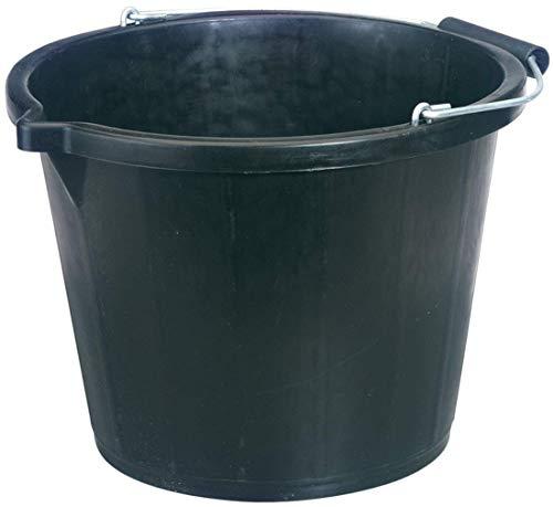 Draper 31687 Bucket, 14.8L, Black
