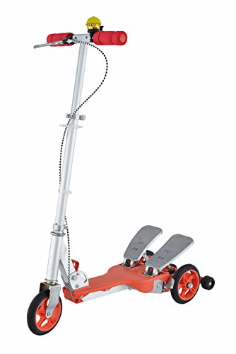 trade et distribution Dual Pedal Scooter (Trottinette) Rouge