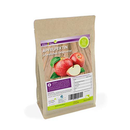 Apfelpektin 200g - pflanzliches Geliermittel - Glutenfrei - veganes Pulver - pflanzliche Gelatine - Premium Qualität