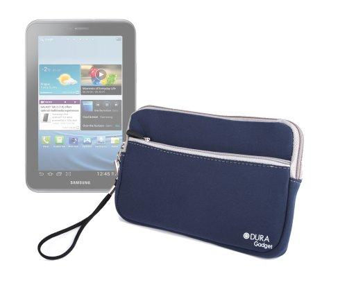 DURAGADGET Funda Azul De Neopreno para Samsung Galaxy Tablet 7' Tab2 P3110 8GB